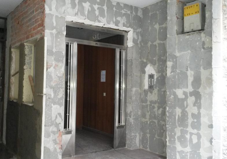 rehabilitación de portal