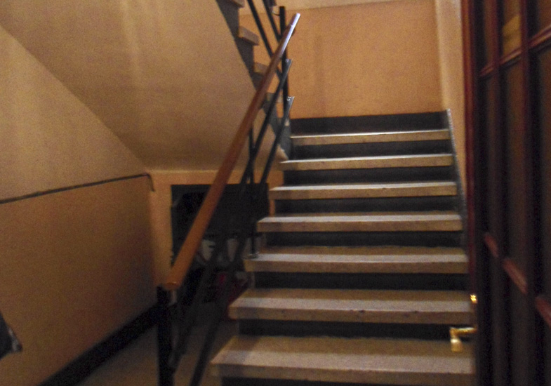 Estado anterior escalera