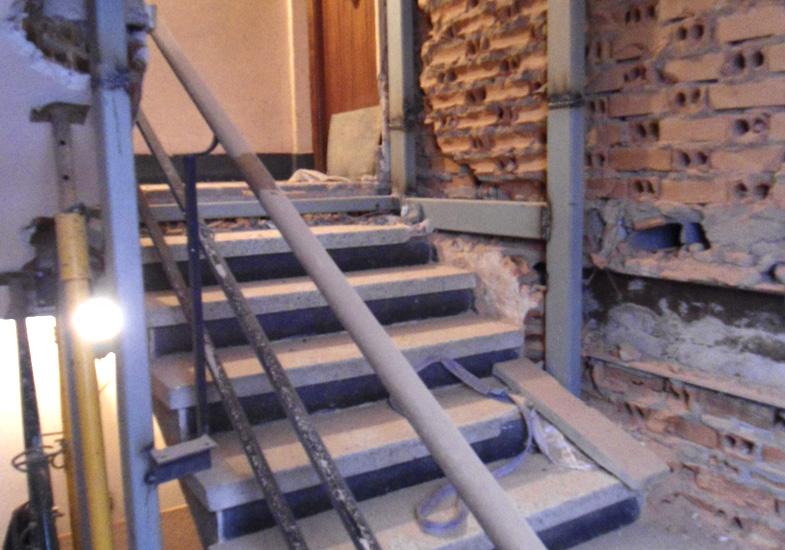 Reforma caja escaleras