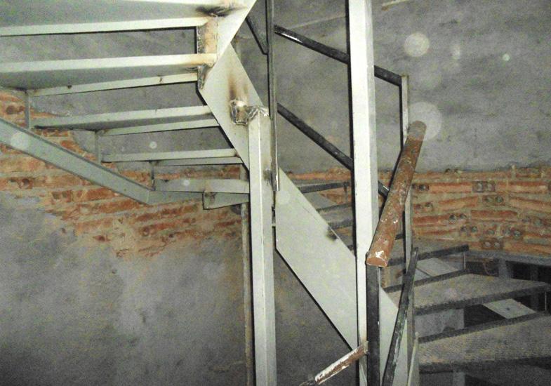 Nueva estructura escaleras