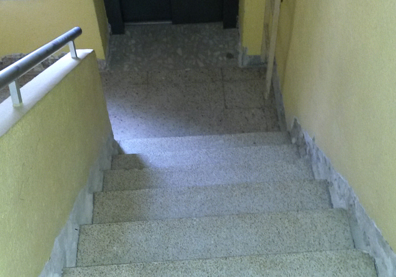 Estado anterior escaleras