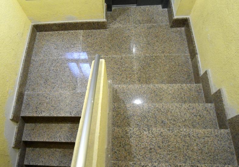 Caja de escaleras terminada