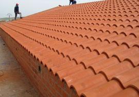 Construcción de edificios cubiertas