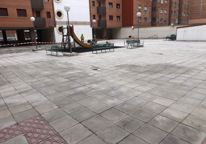 Impermeabilización de patio