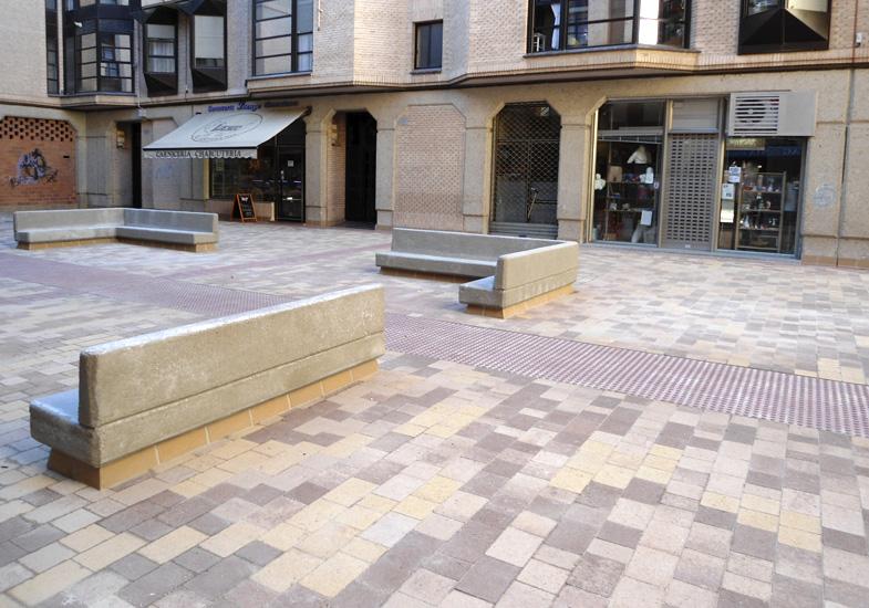 Impermeabilización de plaza Inés de Osorio de Palencia
