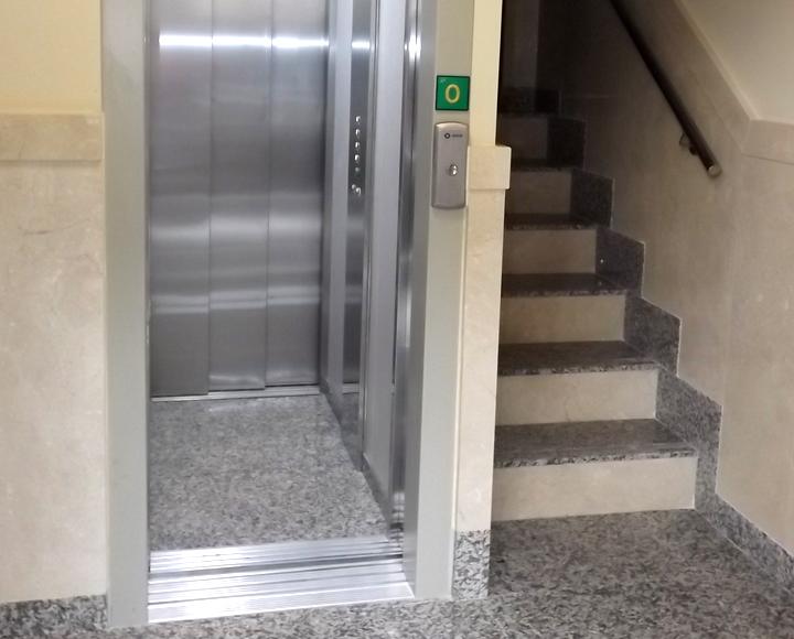 Instalación de ascensores